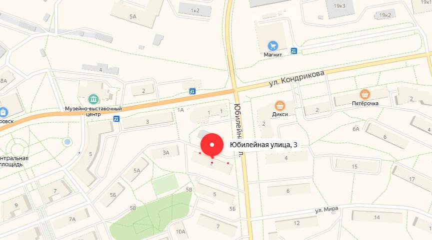 кировск - карта