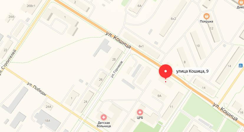 ковдор - карта